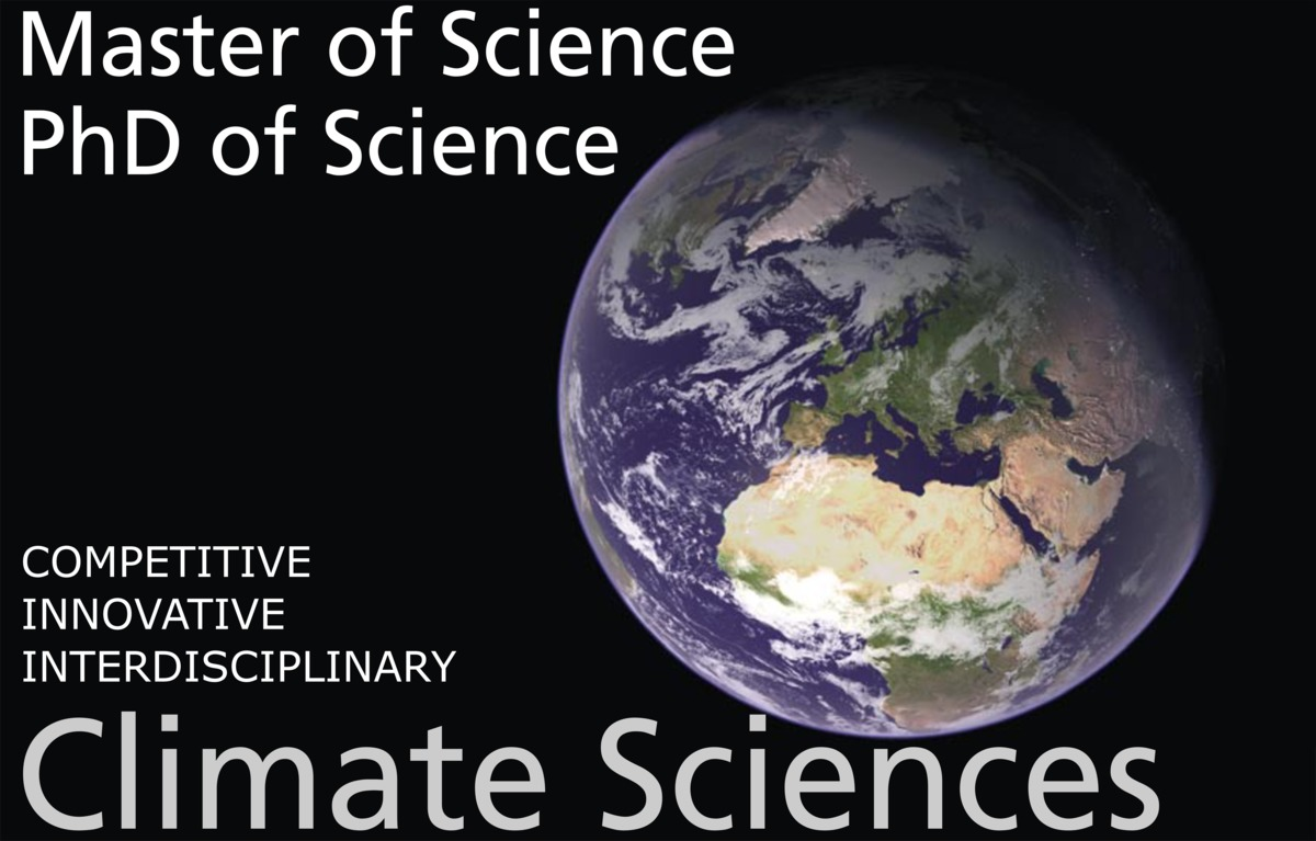 Titleimage: Graduate School of Climate Sciences